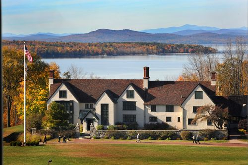 Saint Joseph's College of Maine - Our campus by the lake