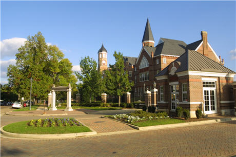 Legendary Callaway Hall at the Mississippi University for Women
