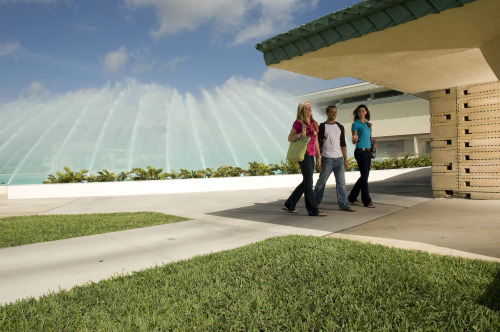 Florida Southern College Water Dome designed by Frank Lloyd Wright