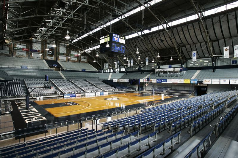 Hinklei Fieldhouse Interior, Butler University