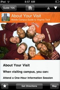 Mobile Apps: Campus Guides