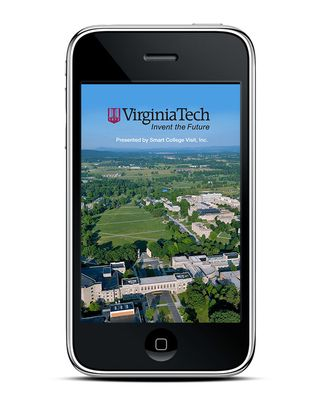 Smart College Visit Launches Mobile App for Virginia Tech