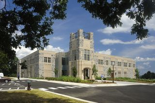 Hokie Central: the Virginia Tech Visitor and Undergraduate Admissions Center