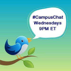#CampusChat Wednesdays 9PM ET