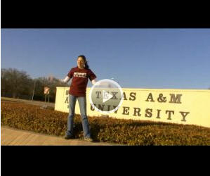 College Visit Video: Texas A & M