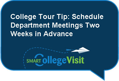 College Tour Tip