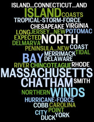 Hurricane Sandy Alert Tracking