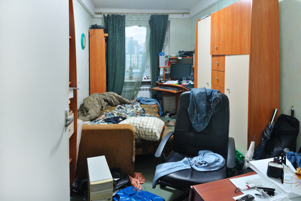 Dorm Room Spring Cleaning