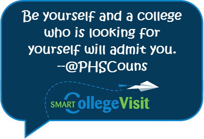 Fav #CampusChat tweet: Be Yourself