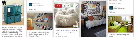 Smart College Visit's Dorm Life Guides on Pinterest