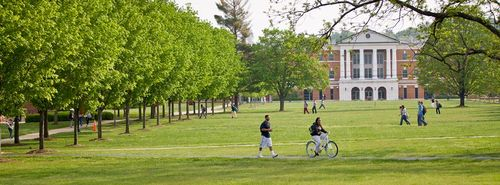 Consider this if you plan to visit colleges during summer, such as Bridgewater College pictured here.